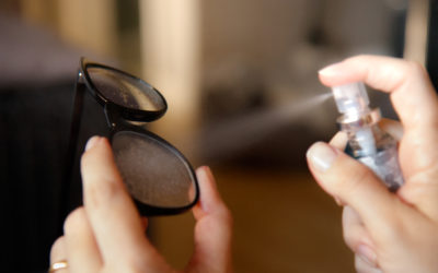 Como limpar os óculos durante o Coronavírus