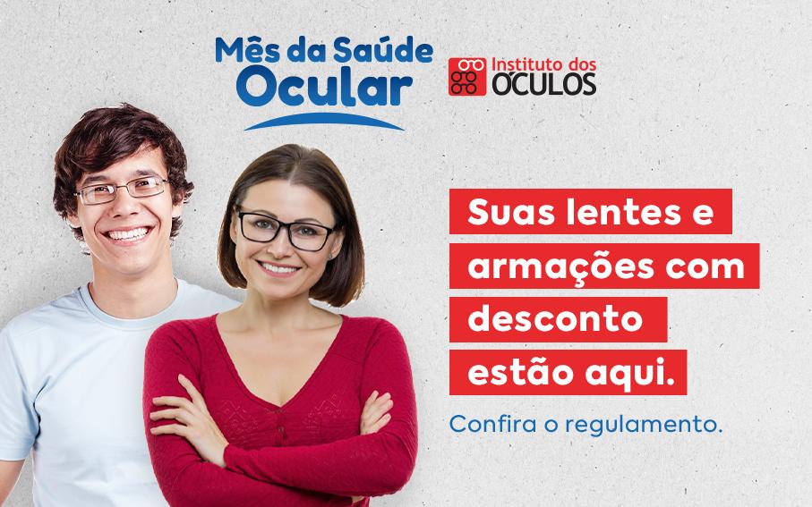 Campanha Mês da Saúde Ocular